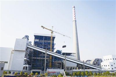 Anhui Chizhou Jiuhua power plant